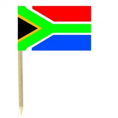Stuzzicadenti bandierine Sud Africa
