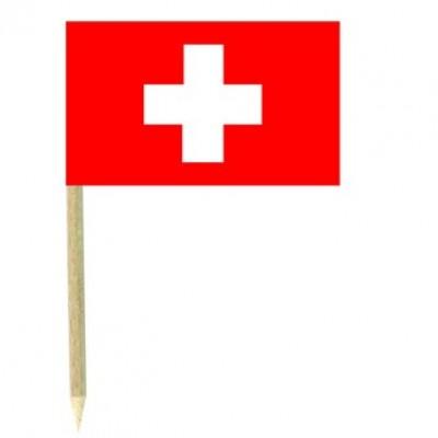Stuzzicadenti bandierine Svizzera