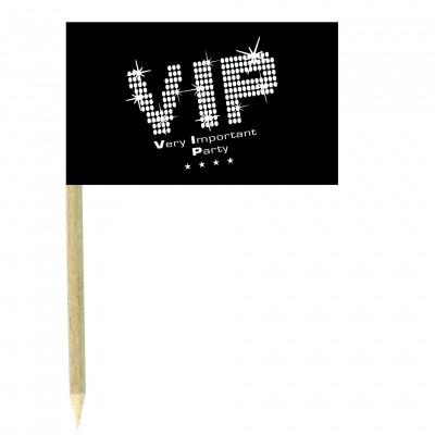 Stuzzicadenti bandierine VIP